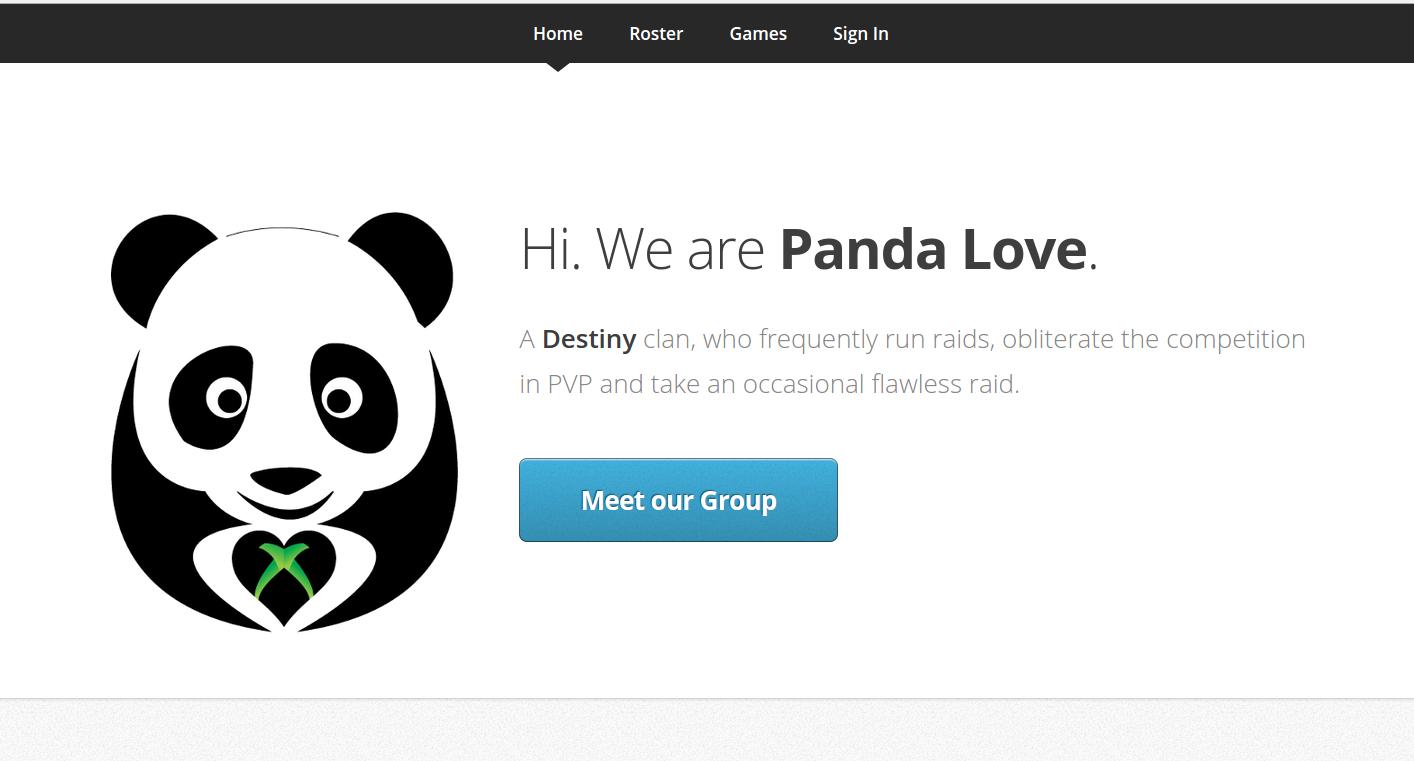 PandaLove Home
