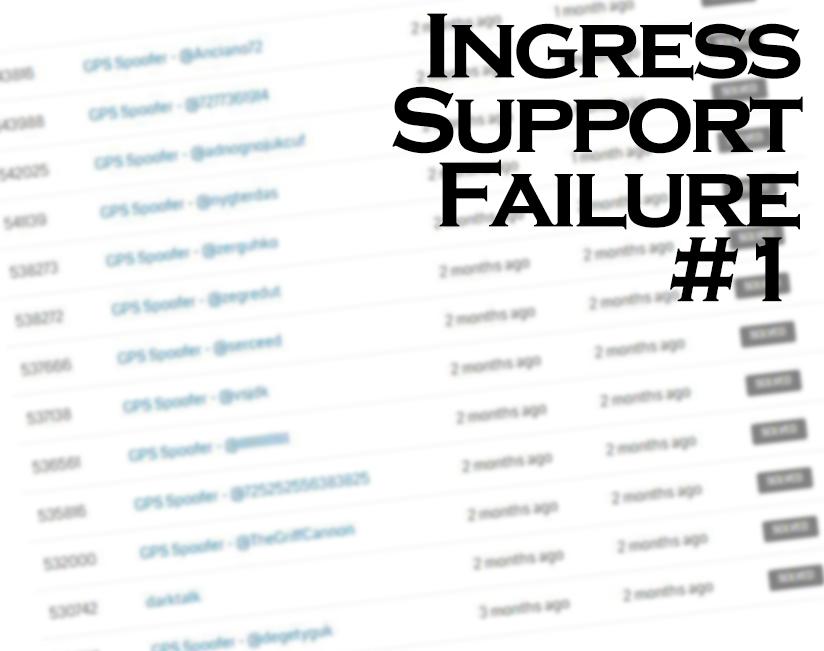 Ingress Support Failure #1